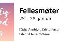 Hjertelig velkommen til årets fellesmøter 25. - 28. januar