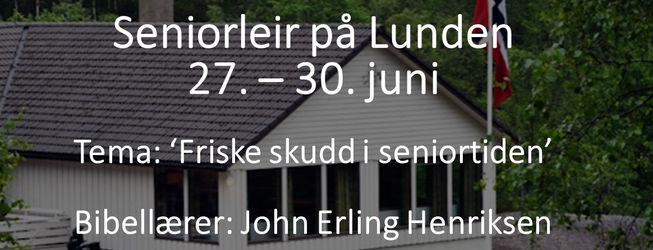 Seniorleir på Lunden